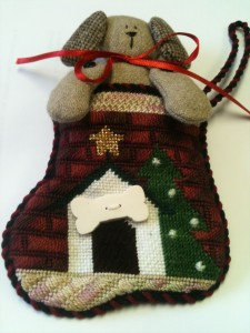 Doghouse Ornament